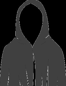 robe, hooded, anonymous